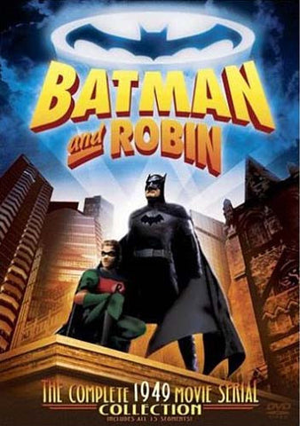 Batman And Robin - The Complete 1949 Movie Serial Collection DVD Movie