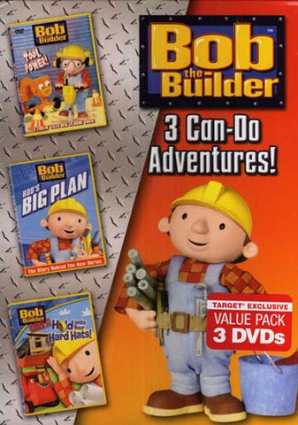 Bob The Builder - 3 Can-Do Adventures! (Boxset) DVD Movie