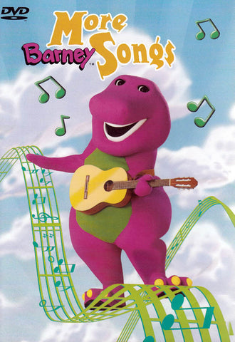 Barney - More Barney Songs DVD Movie
