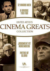 Cinema Greats (12 Angry Men/Bridge Too Far/Judgment At Nuremberg/Paths Of Glory) (Boxset)
