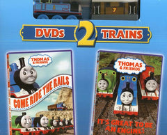 Thomas and Friends (Come Ride The Rails/It's great to be an engine) - 2 Train toys (Boxset)