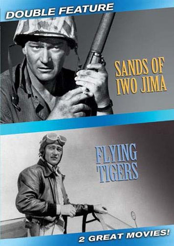 Sands Of Iwo Jima / Flying Tigers (Double Feature) DVD Movie