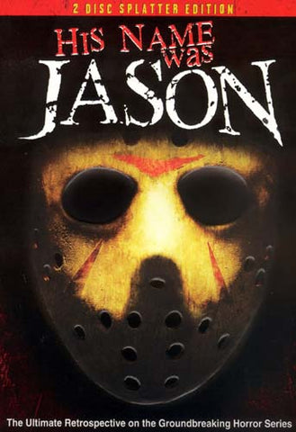 His Name Was Jason - 30 Years of Friday the 13th (2 Disc Splatter Edition) DVD Movie