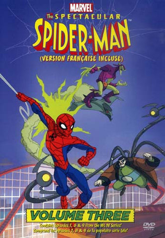 The Spectacular Spider-Man - Vol - 3 DVD Movie