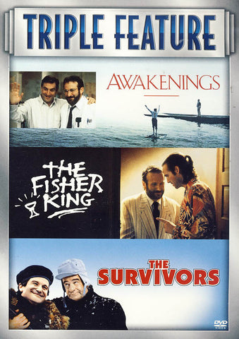 Awakenings / Fisher King / The Survivors (Triple Feature) DVD Movie
