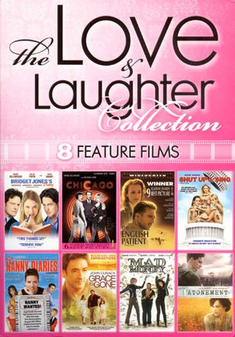 The Love And Laughter Collection - 8 Feature Films (Boxset) DVD Movie