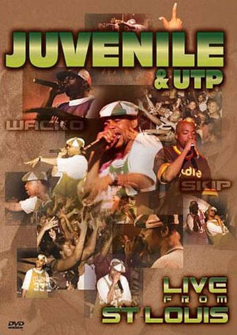 Juvenile & UTP - Live from St. Louis DVD Movie