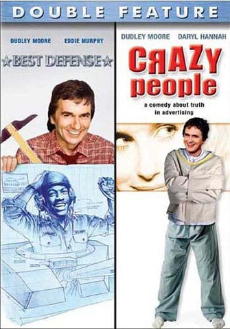 Best Defense/Crazy People (Double Feature) DVD Movie
