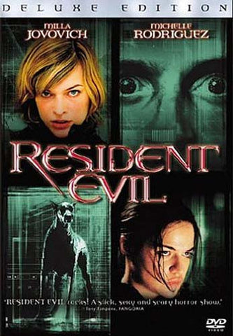 Resident Evil (Deluxe Edition) DVD Movie