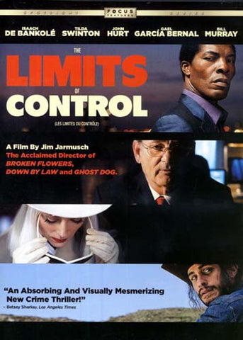 The Limits of Control (Bilingual) DVD Movie