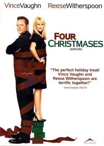Four Christmases (Bilingual) DVD Movie