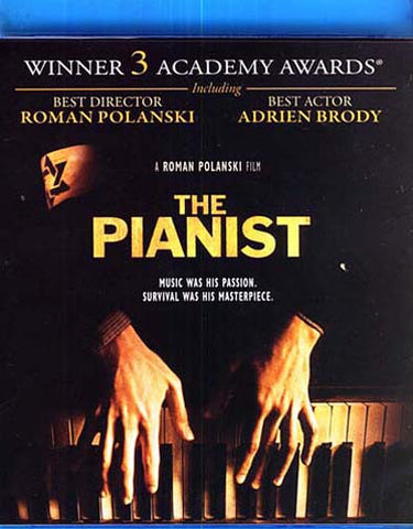 The Pianist (Adrien Brody) (Blu-Ray) BLU-RAY Movie