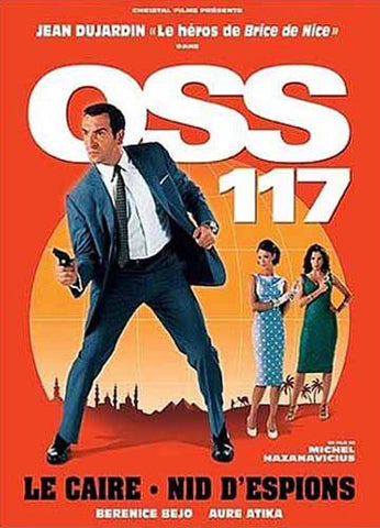 OSS 117: Le Caire Nid D'Espions DVD Movie