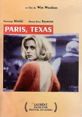 Paris, Texas (French version) DVD Movie