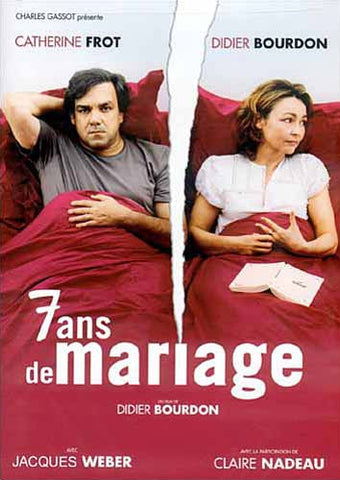 7 ans de mariage (French Only) DVD Movie
