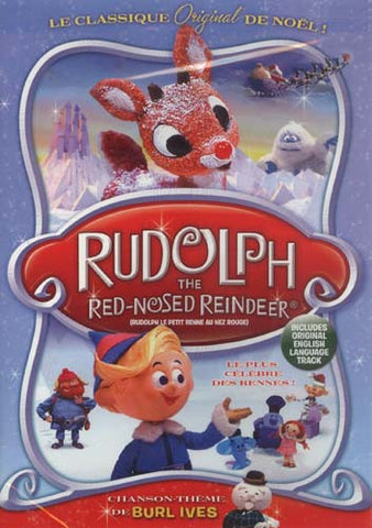 Rudolph The Red-Nosed Reindeer (French Version) DVD Movie