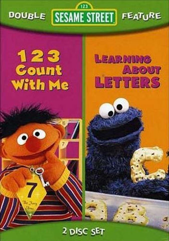 123 Count With Me/Learning About Letters - (Sesame Street) DVD Movie