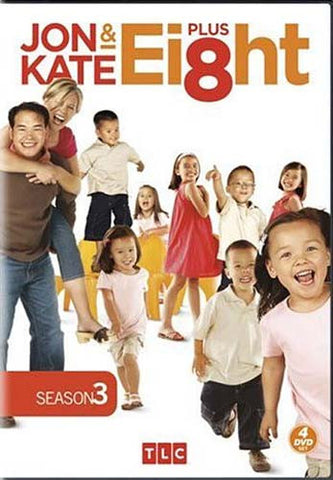Jon And Kate Plus 8 - Season Three (Boxset) DVD Movie