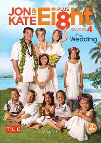 Jon And Kate Plus 8 - Season 4,Volume 1 - The Wedding (Keepcase) (Boxset) DVD Movie