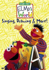 Singing, Drawing & More - Elmo s World (Sesame Street)