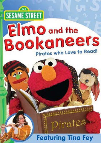 Elmo And The Bookaneers - (Sesame Street) DVD Movie