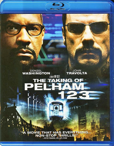 The Taking of Pelham 1 2 3 (Blu-ray) BLU-RAY Movie