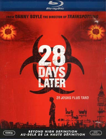 28 Days Later (Blu-ray) (Bilingual) BLU-RAY Movie