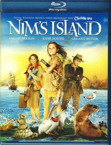 Nim's Island (Blu-ray) BLU-RAY Movie