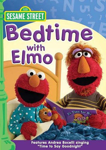 Bedtime With Elmo - (Sesame Street) DVD Movie