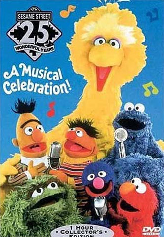 A Musical Celebration - (Sesame Street 25th Birthday) DVD Movie