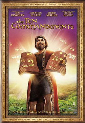 The Ten Commandments (Animated) DVD Movie