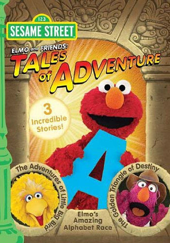 Elmo And Friends - Tales Of Adventure - (Sesame Street) DVD Movie