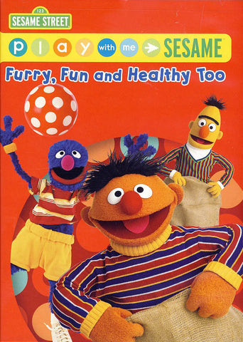 Furry Fun And Healthy Too - Play With Me Sesame - (Sesame Street) DVD Movie