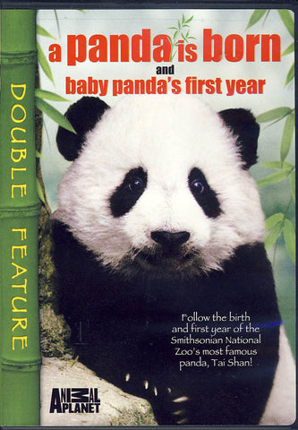 A Panda Is Born/Baby Panda's First Year (Double Feature) DVD Movie