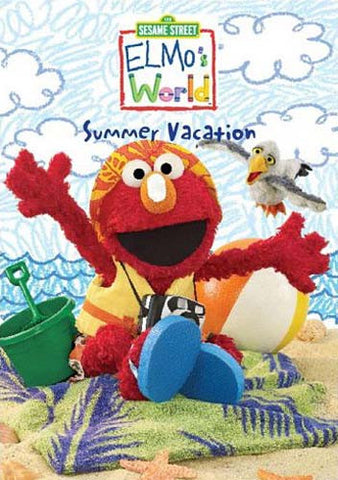 Summer Vacation - Elmo's World - (Sesame Street) DVD Movie