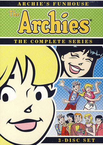 Archie s Funhouse - The Archies - The Complete Series DVD Movie