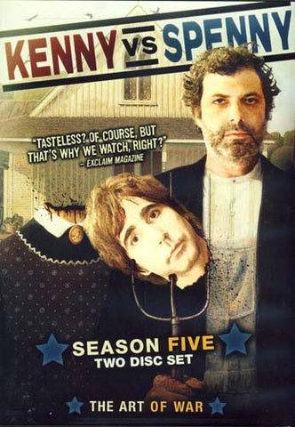 Kenny Vs. Spenny - Season 5 Five (Boxset) DVD Movie