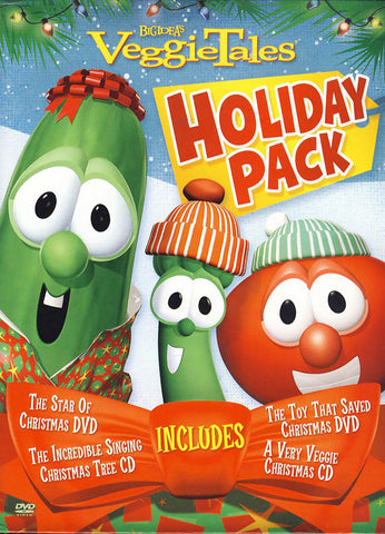 VeggieTales Holiday Pack (Boxset) DVD Movie
