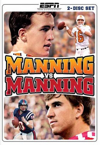 Manning Vs Manning DVD Movie