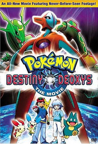Pokemon - Destiny Deoxys (Bilingual) DVD Movie