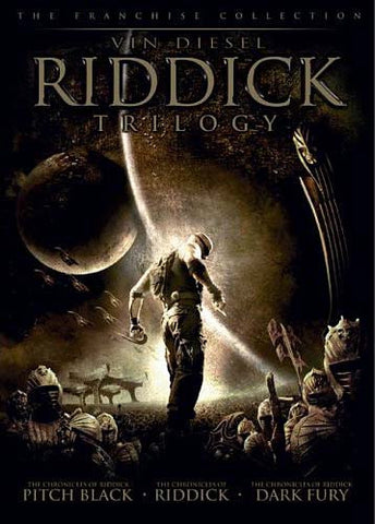 Riddick Trilogy (Pitch Black/ The Chronicles of Riddick - Dark Fury/ The Chronicles of Riddick) DVD Movie