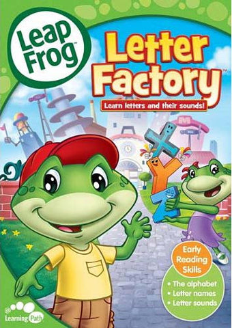 Leap Frog - Letter Factory (Learn Letters And Their Sounds) DVD Movie