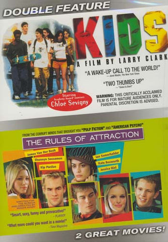 Kids / The Rules of Attraction (Double Feature) DVD Movie