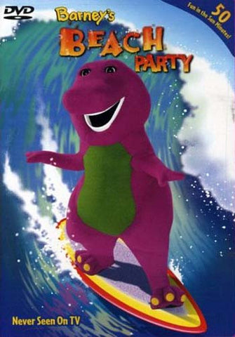 Barney - Barney's Beach Party DVD Movie