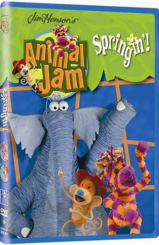 Jim Henson s Animal Jam - Spring In! DVD Movie