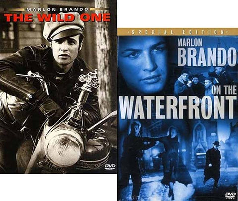 On the Waterfront / The Wild One (2 Pack) DVD Movie