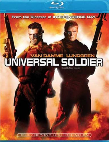 Universal Soldier (Blu-ray) BLU-RAY Movie