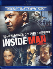 Inside Man (Blu-ray+DVD+Digital Copy) (Bilingual) (Blu-ray)