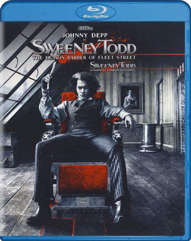 Sweeney Todd - The Demon Barber Of Fleet Street (Blu-ray) BLU-RAY Movie