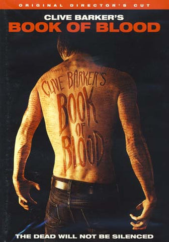 Book of Blood (Clive Barker's) (Original Director's Cut) DVD Movie